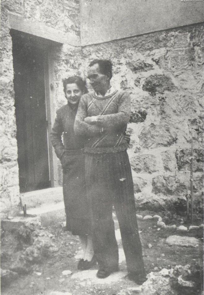 (1941 - Ο Καζαντζάκης και η Ελένη στην Αίγινα την εποχή της κατοχής)