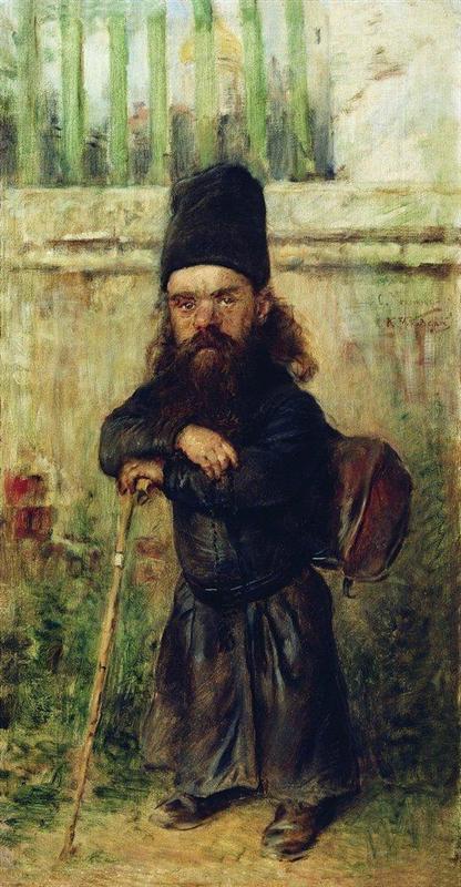 Μοναχός - τελώνης στο ναό -Konstantin Makovsky 1900