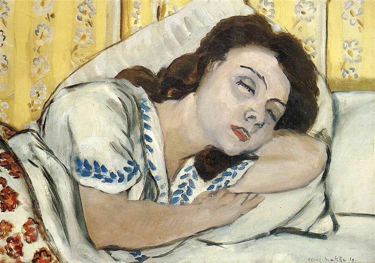 Πορτρέτο της Μαργαρίτας που κοιμάται Henri Matisse 1920