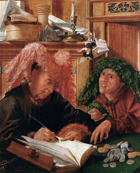 Οι φοροεισπράκτορες -Marinus van Reymerswaele - 1540