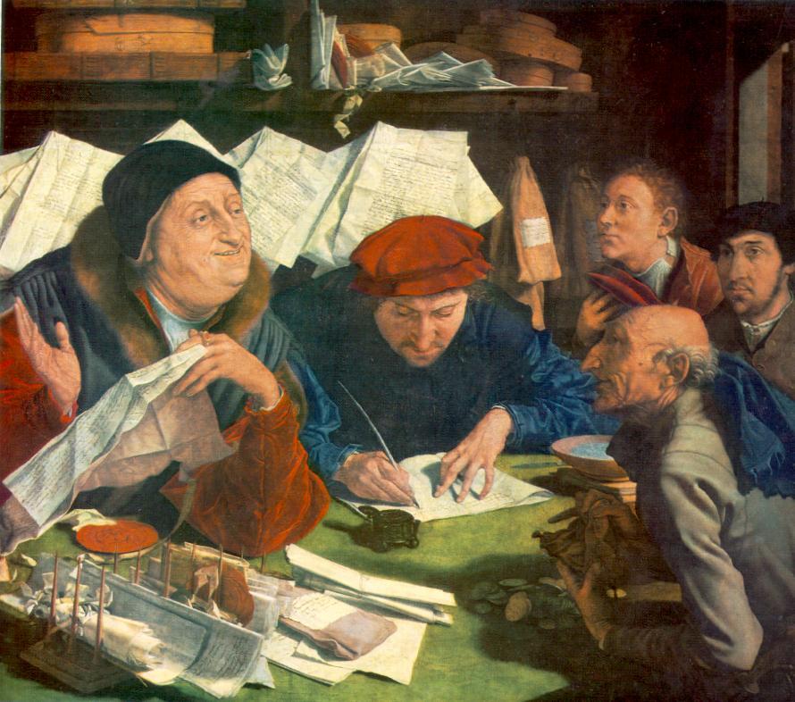 Οι φοροεισπράκτορες -Marinus van Reymerswaele - 1542