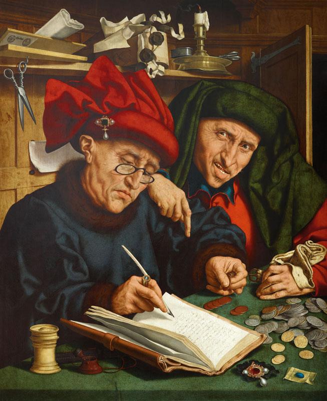 φοροεισπράκτορες, Quinten Massys, τέλη 1520