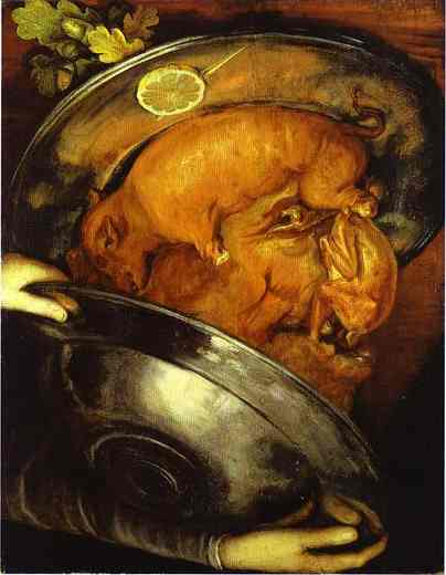 o μάγειρας - Giuseppe Arcimboldo