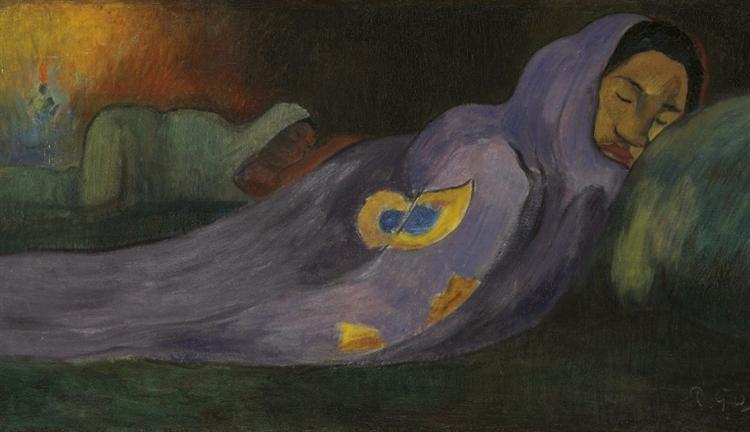 ονειρεύεται - Paul Gauguin 1892