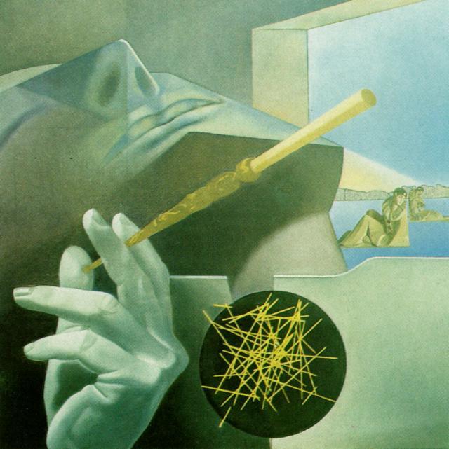 Ο κοιμώμενος καπνιστής Salvador Dali 1972