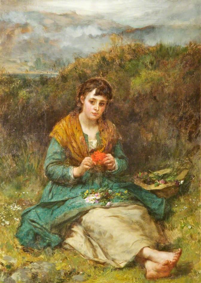 Ελεύθερη από μέριμνες - Thomas Faed - 1878