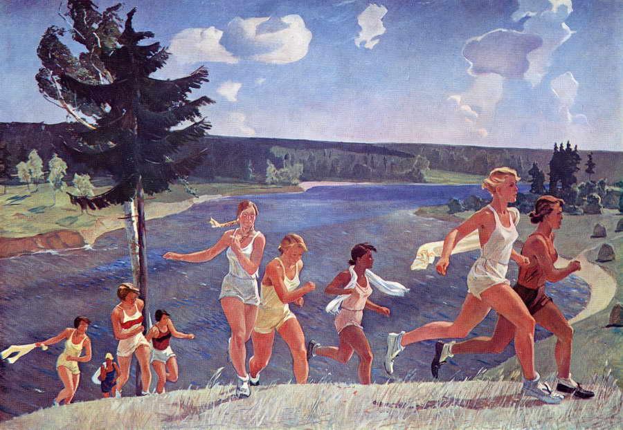 Ελευθερία - Alexander Deineka - 1944