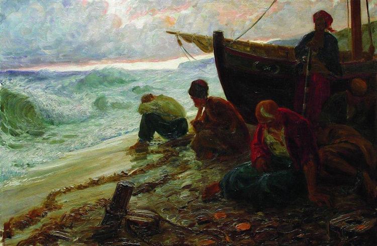 ελευθερίας στο τέλος της Μαύρης Θάλασσας - Ίλια Ρέπιν