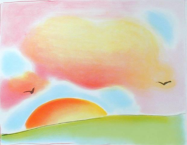 Ελευθερία -Peter Max 1980