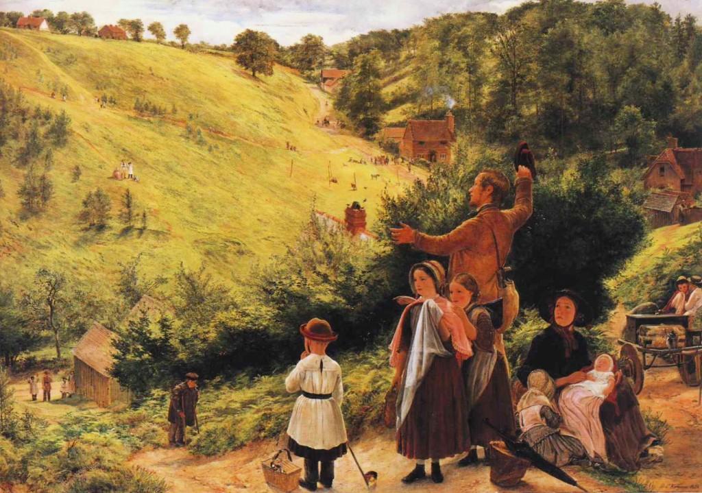 Η τελευταία ματιά στο σπίτι - Richard Redgrave - 1858
