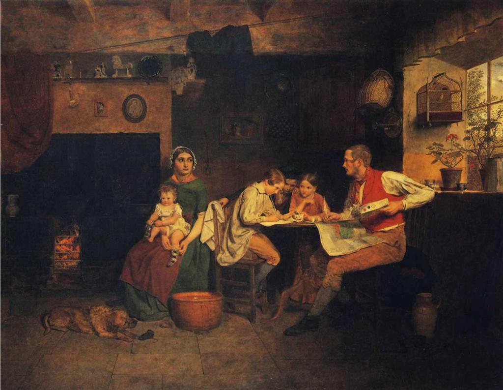 Απάντηση στο γράμμα του μετανάστη James Collinson - 1850