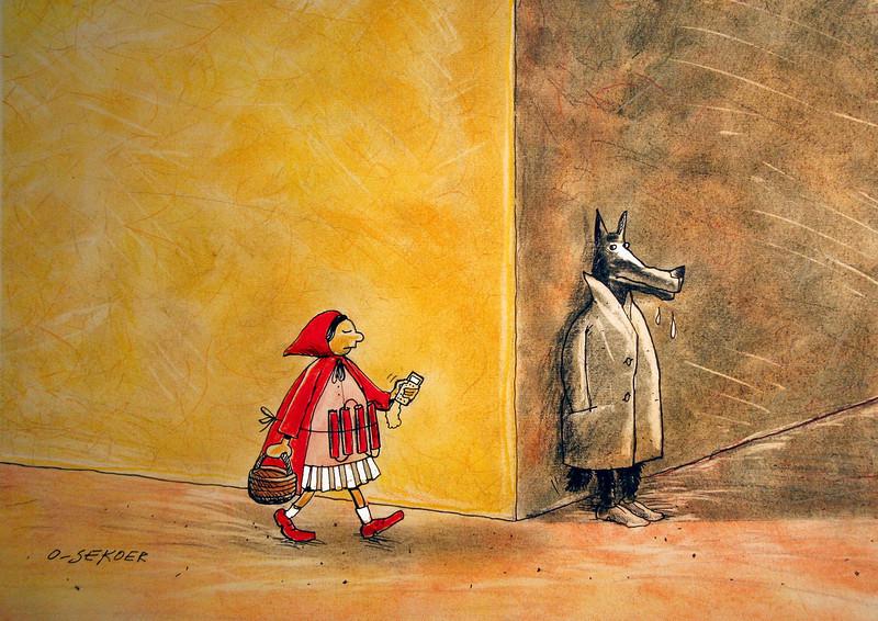 luc belgium fable wolf terrorist