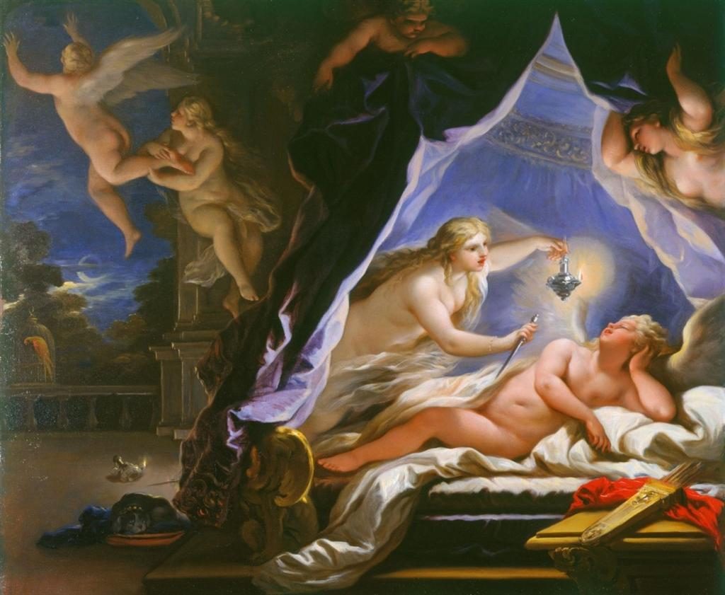 Η Ψυχή ανακαλύπτει τον κοιμισμένο Έρωτα