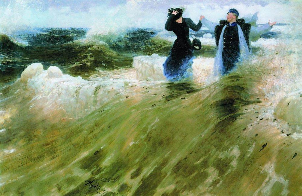 ω τι ελευθερία! - Ilya Repin 1903