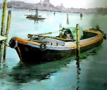 βάρκες νεροχρωμα