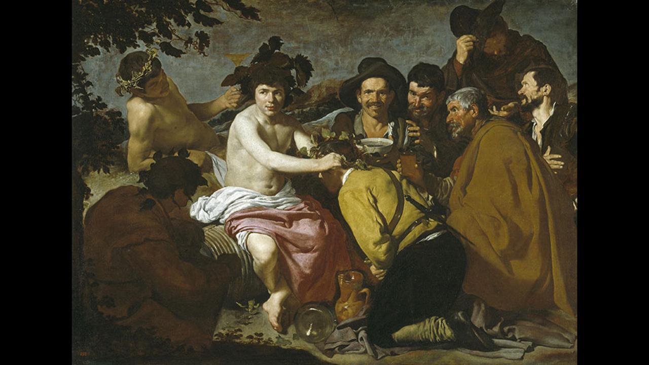 Ντιέγκο Βελάσκεθ, Ο θρίαμβος του Βάκχου, 1628