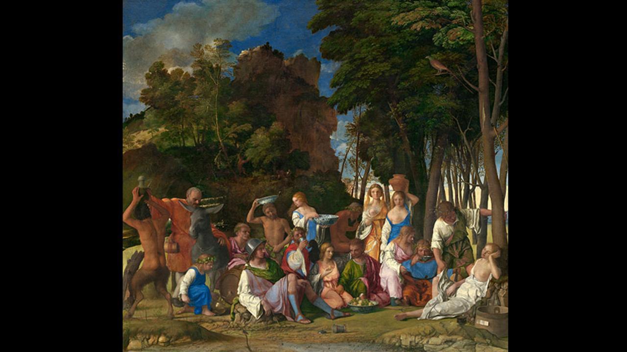 Τζιοβάνι Μπελίνι, Η Γιορτή των Θεών, 1514