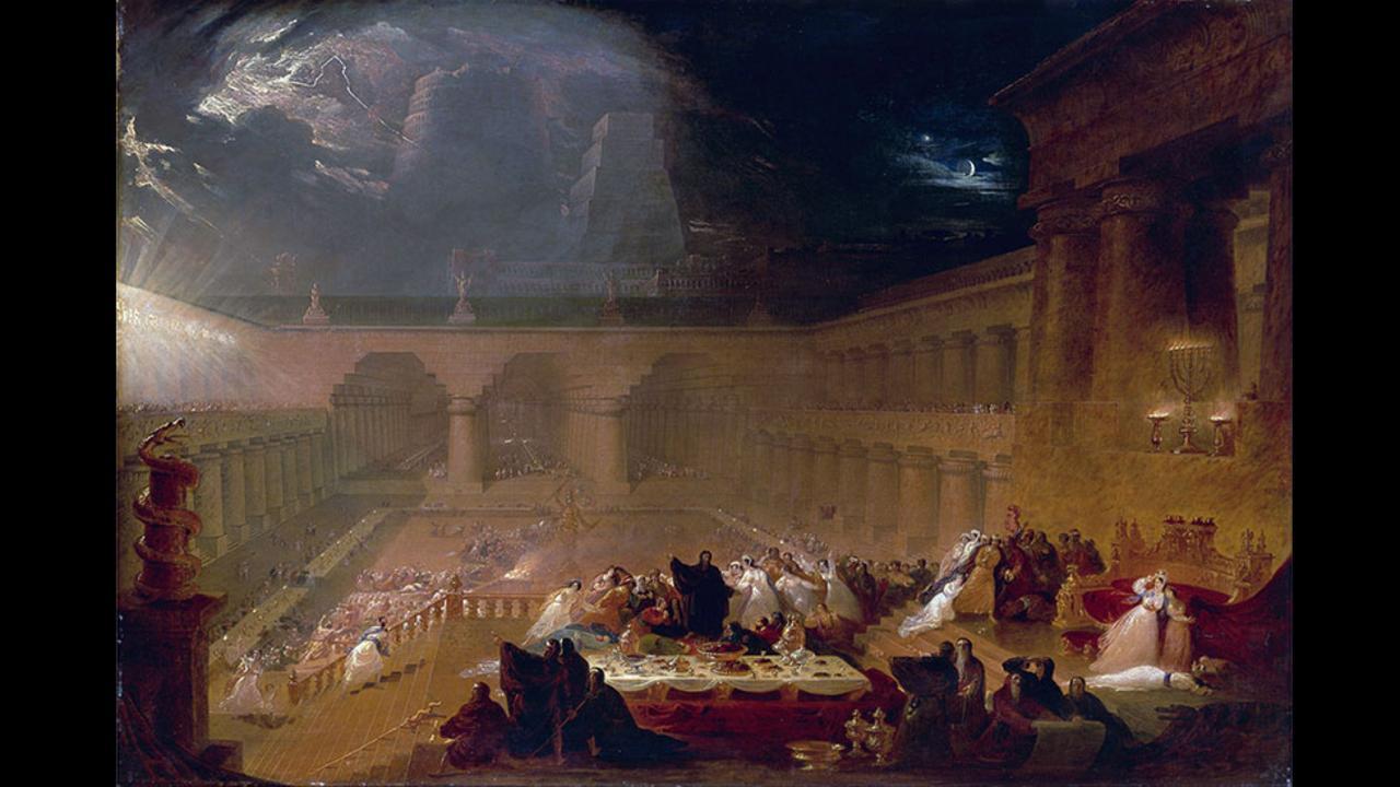 John Martin, Η γιορτή του Βαλτάσαρ, 1821