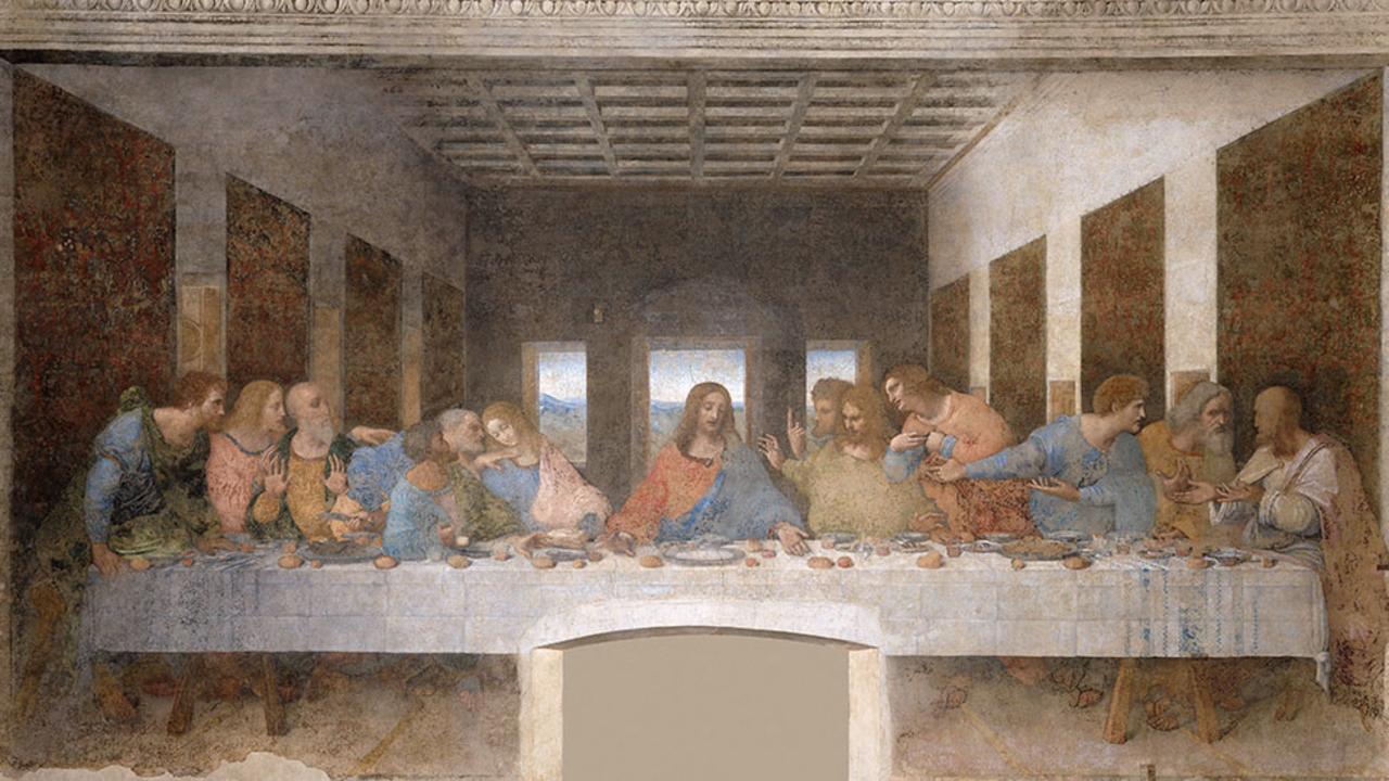 Leonardo da Vinci, ο Μυστικός Δείπνος, τέλη1490