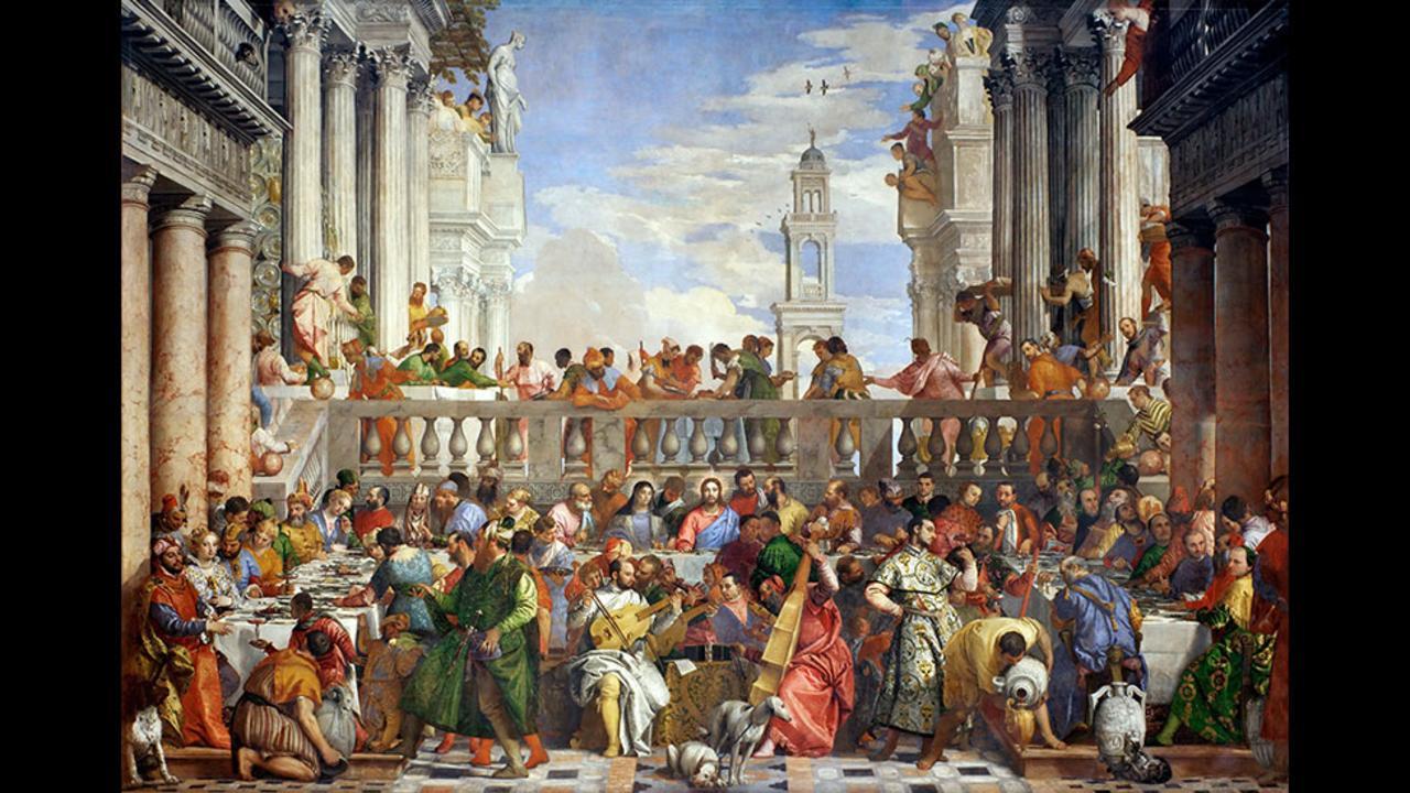 Πάολο Βερονέζε, ο γάμος στην Κανά, 1563