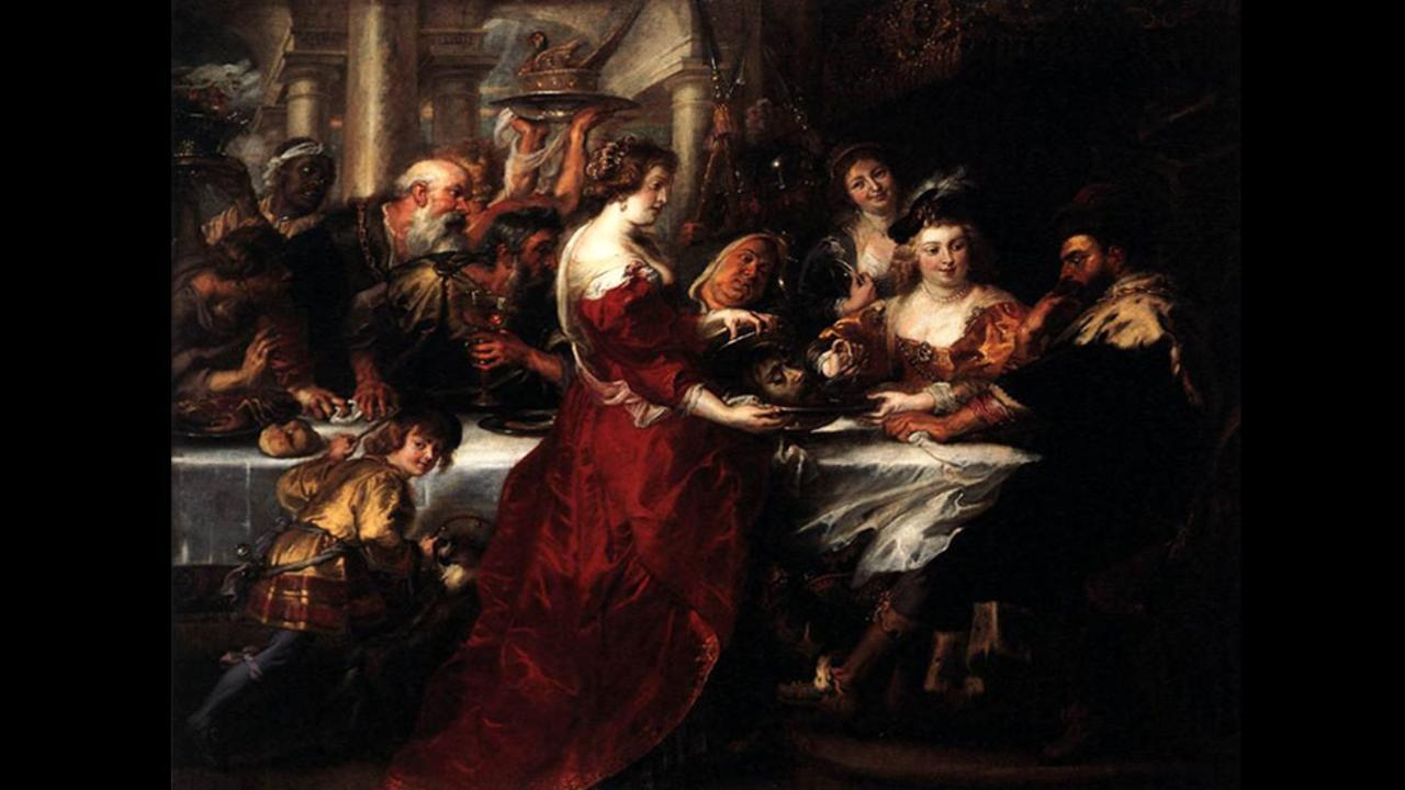 Peter Paul Rubens, Η Γιορτή του Ηρώδη, 1635-1638