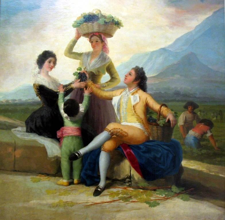 φθινόπωρο ή τρύγος -Francisco Goya 1786