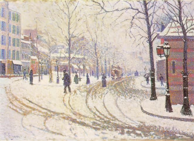 Λεωφόρος Clichy 1886 - Paul Signac 1886