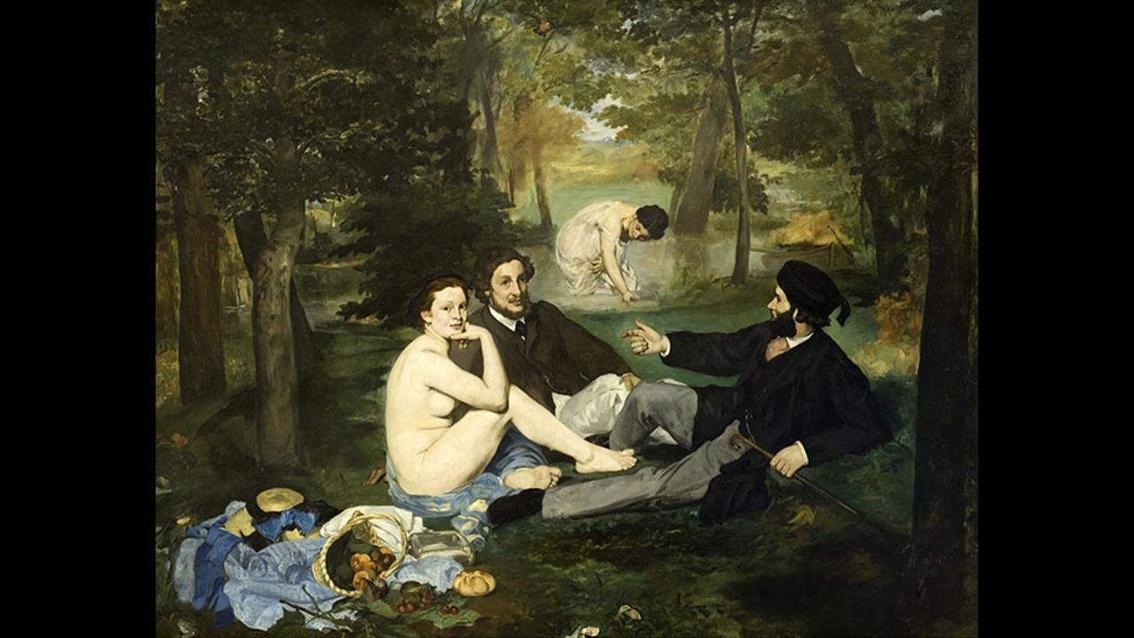 Εντουάρ Μανέ, Το Γεύμα στη χλόη, 1862