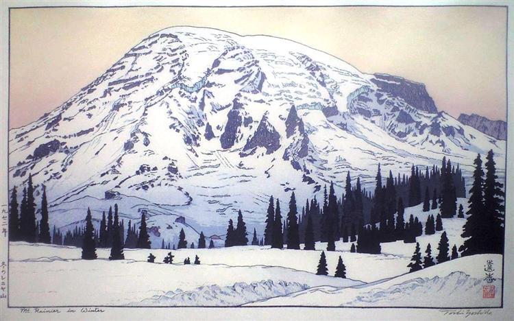 Όρος Rainier το χειμώνα - Toshi Yoshida 1972