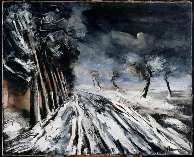 Χιονοθύελλα- Maurice de Vlaminck