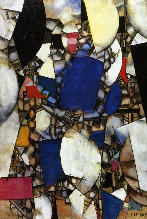 Γυναίκα στα μπλε 1912 -Fernand Léger