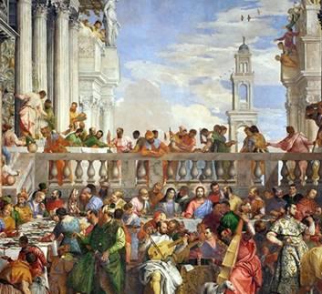 Paolo Veronese The Wedding at Cana v2