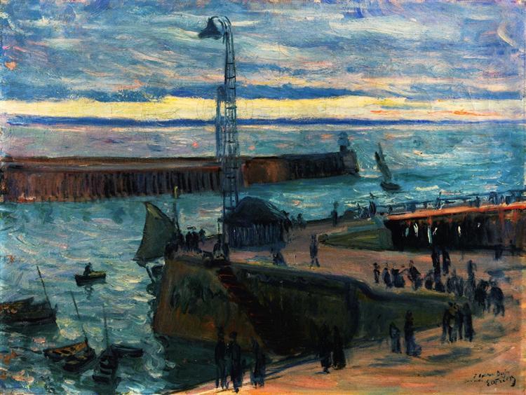 Othon Friesz- Χάβρη- είσοδος του λιμανιού 1897