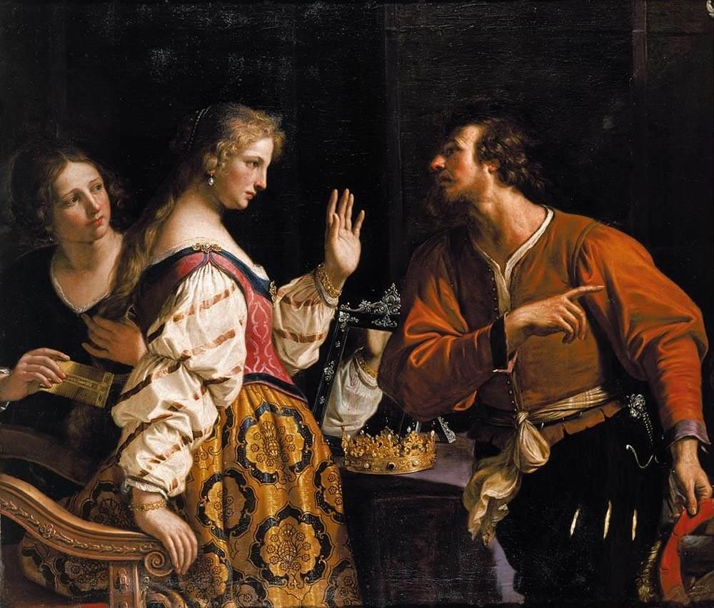 Γκουερτσίνο - Η Σεμίραμις καλείται να πολεμήσει 1645