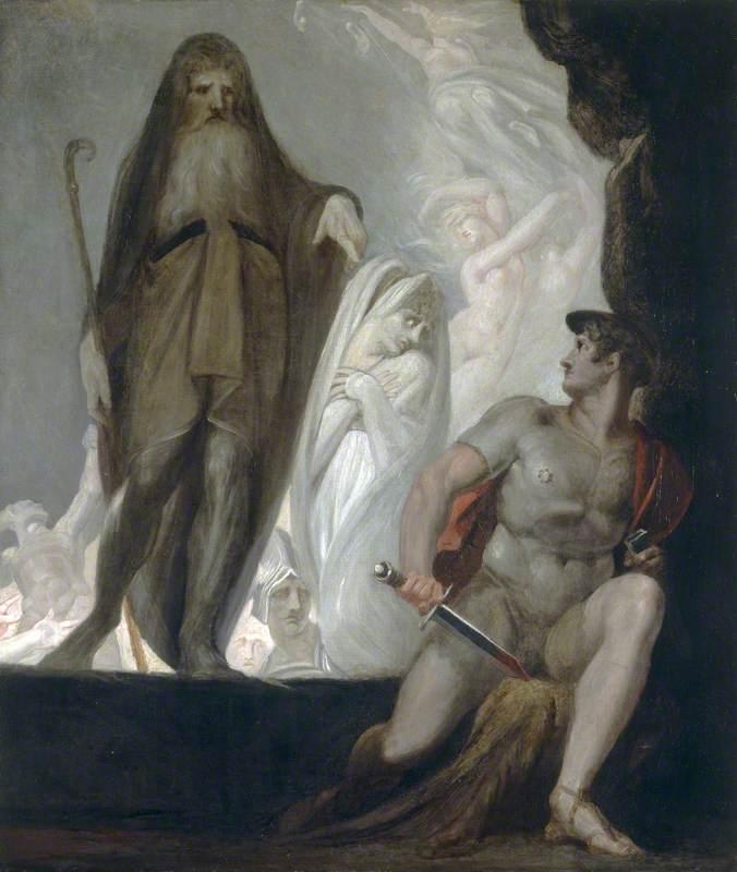Ο Τειρεσίας προφητεύει το μέλλον στον Οδυσσέα 1800