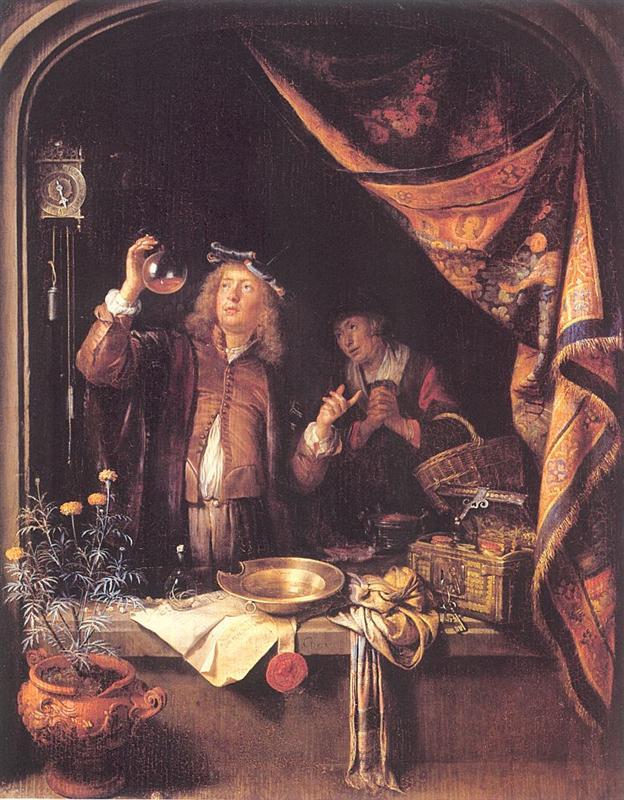 Gerrit Dou - ο γιατρός
