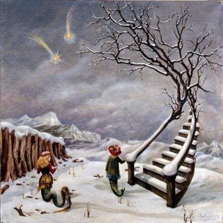 Dorothea Tanning -Η αλήθεια για τους Κομήτες 1945