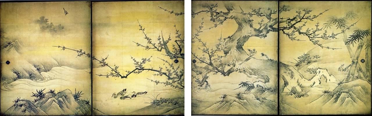 Πουλιά και λουλούδια από τις τέσσερις εποχές - Κανό Εϊτόκου