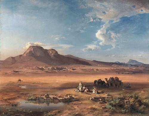 Carl_Anton_Joseph_Rottmann_-_Corinth_with_Akrocorinth