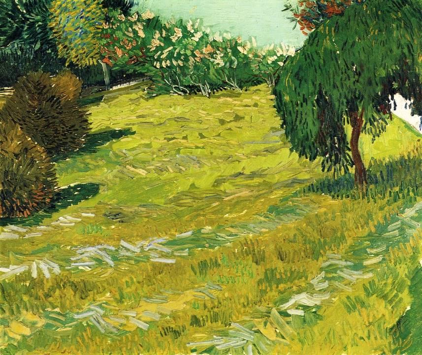 κήπος με Ιτιά - Vincent van Gogh - 1888
