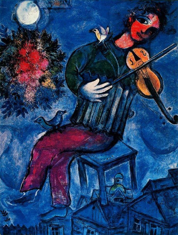 Marc Chagall - Ο γαλάζιος Βιολιστής (1912-13)