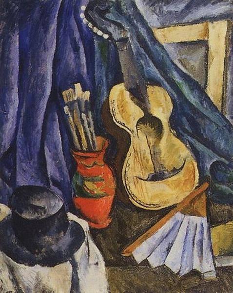 Νεκρή φύση. Κιθάρα. 1917