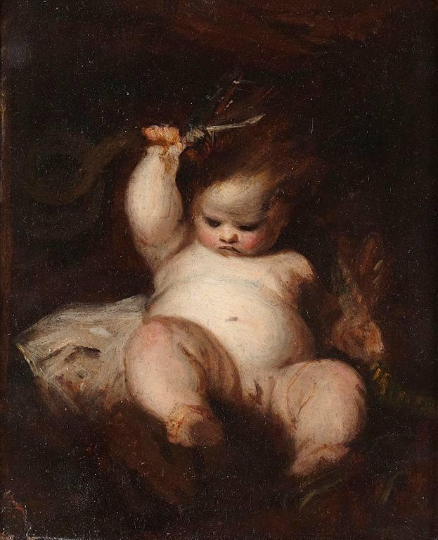 Ο Ηρακλής ως βρέφος - 1785