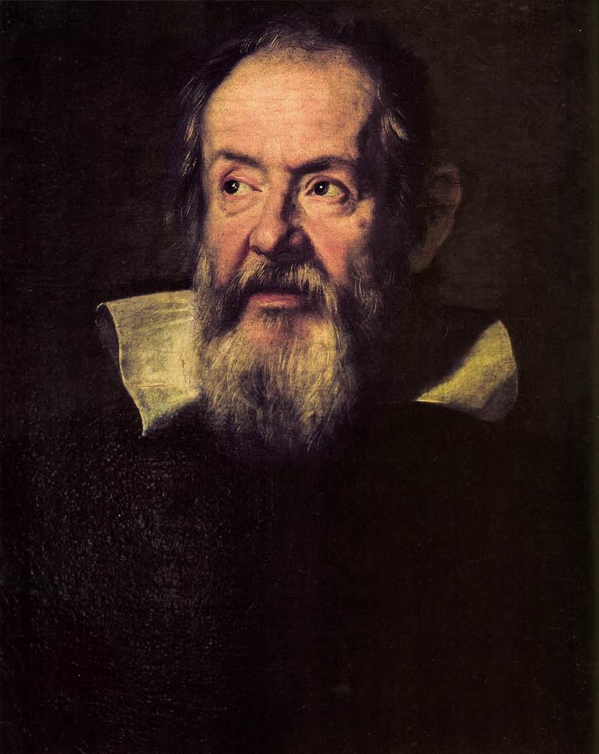 Πορτραίτο του Γαλιλαίου Justus SUSTERMANS, 1636