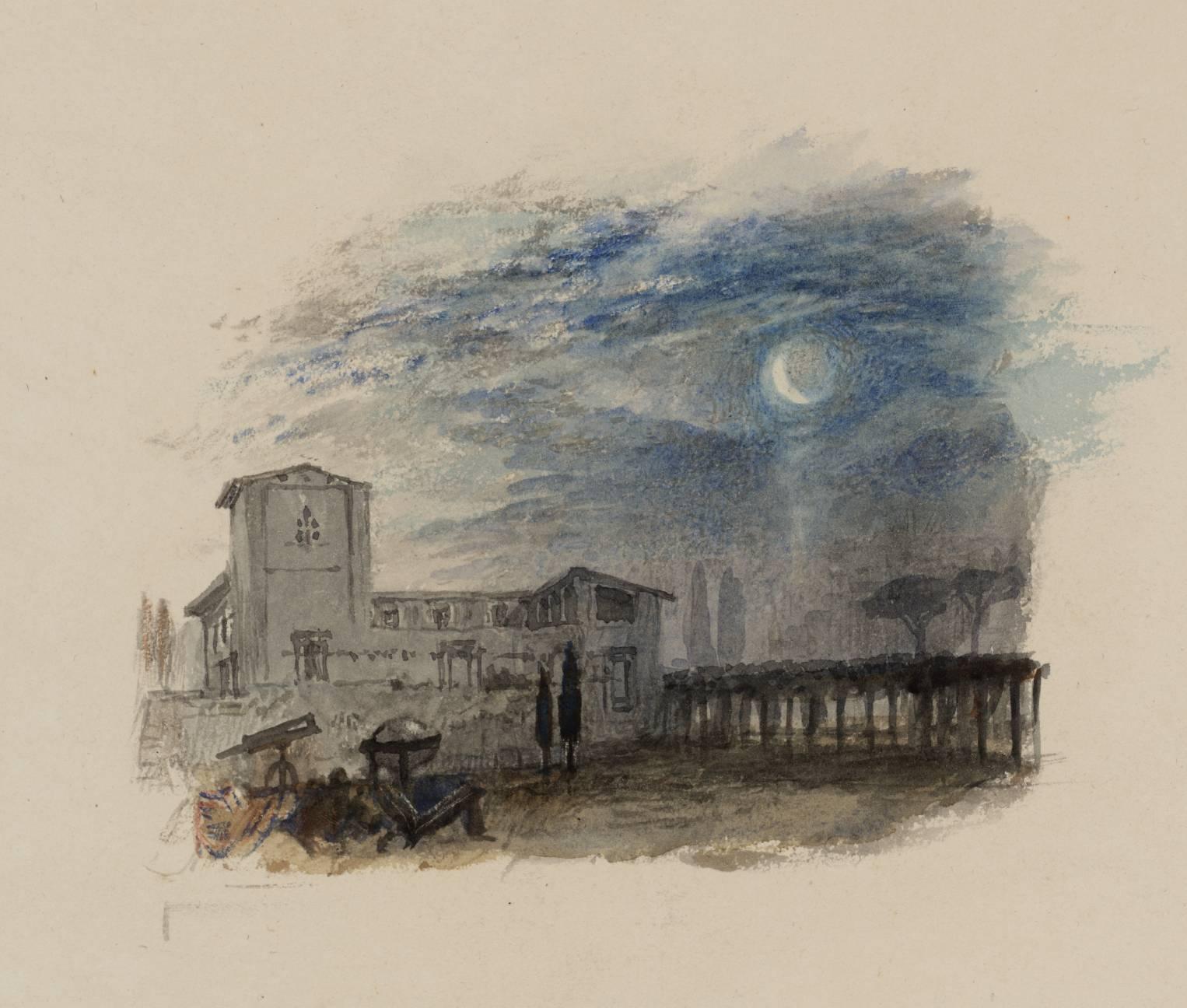 Η βίλα του Γαλιλαίου -Joseph Mallord William Turner - 1826