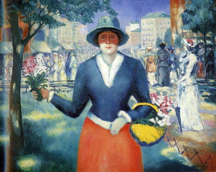 Το κορίτσι των λουλουδιών 1903