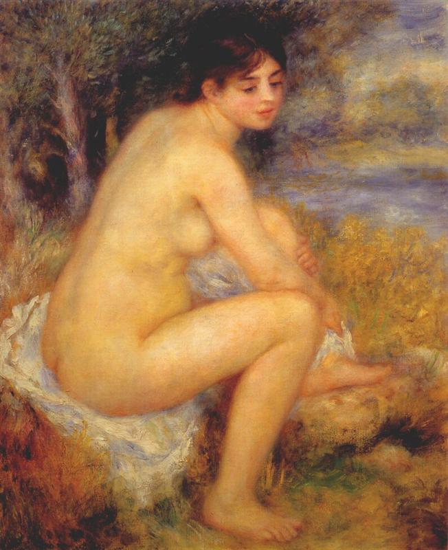 Γυμνό σε ένα τοπίο 1883