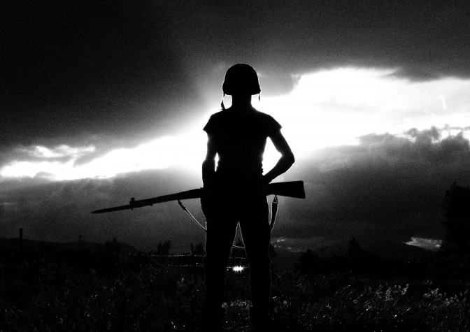 soldier-silhouette