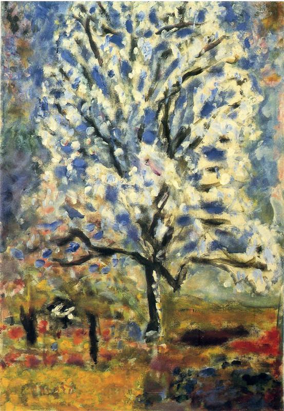Αμυγδαλιά σε ανθοφορία - Pierre Bonnard