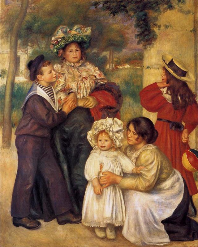 η οικογένειά του 1896